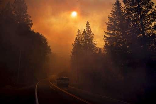 Scientists: Wind, drought worsen fires, not bad management