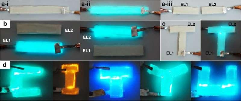 **Self-healing electroluminescent (EL) devices