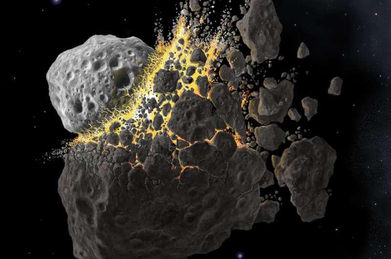 Study reveals secret origins of asteroids and meteorites