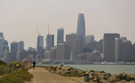 Ack! Distant fires leave California's capital city in a haze