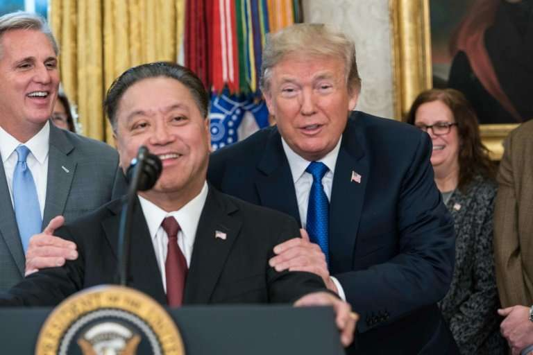Broadcom CEO Hock Tan visited the White House last November where he told President Donald Trump the chipmaker would be moving b