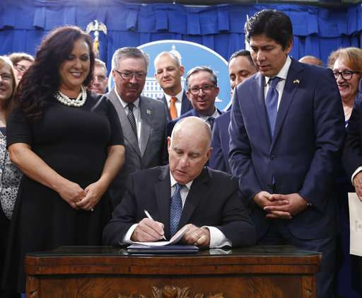 California aims to drop fossil fuels for electricity by 2045 (Update)