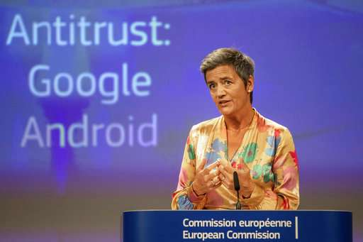 EU ruling against Google opens 'opportunity,' rival says