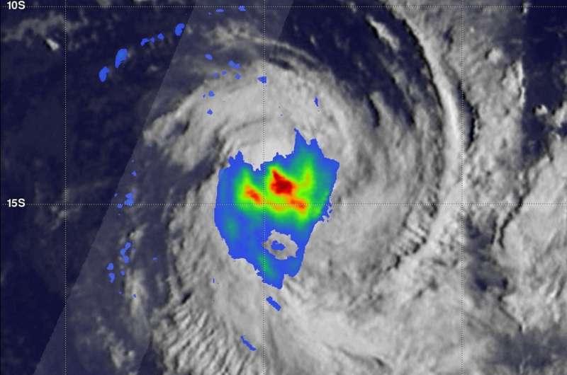 GPM satellite views Tropical Cyclone Flamboyan's rainfall