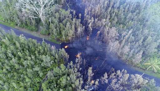 Hawaii's Kilauea volcano jolts with lava, quakes and gas