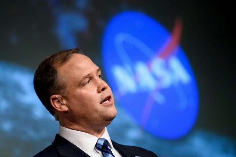 NASA administrator Jim Bridenstine, on November 29, 2108 in Washington