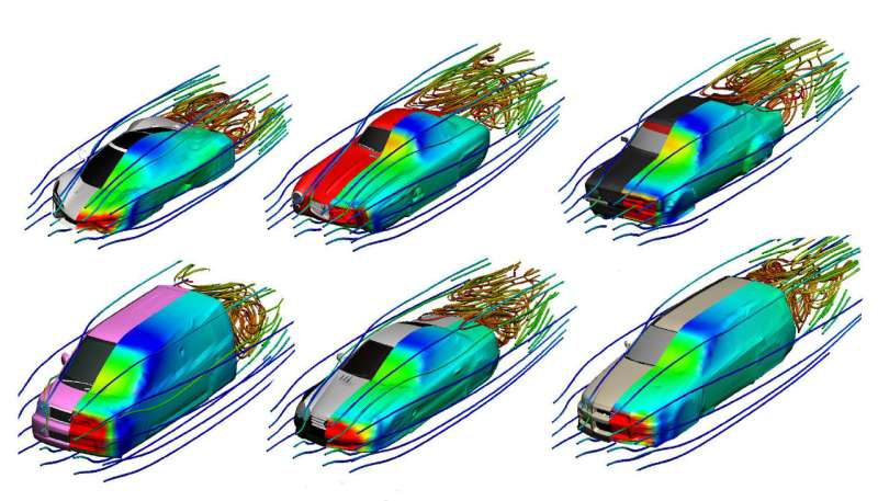 New interactive machine learning tool makes car designs more aerodynamic