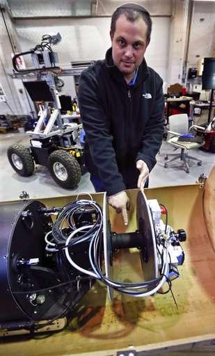 Robot designed for faster, safer uranium plant pipe cleanup