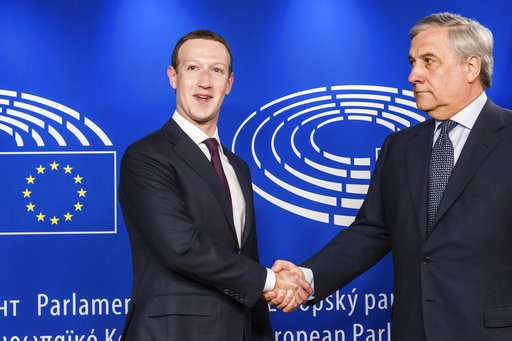 Facebook chief faces EU grilling over his 'digital monster'