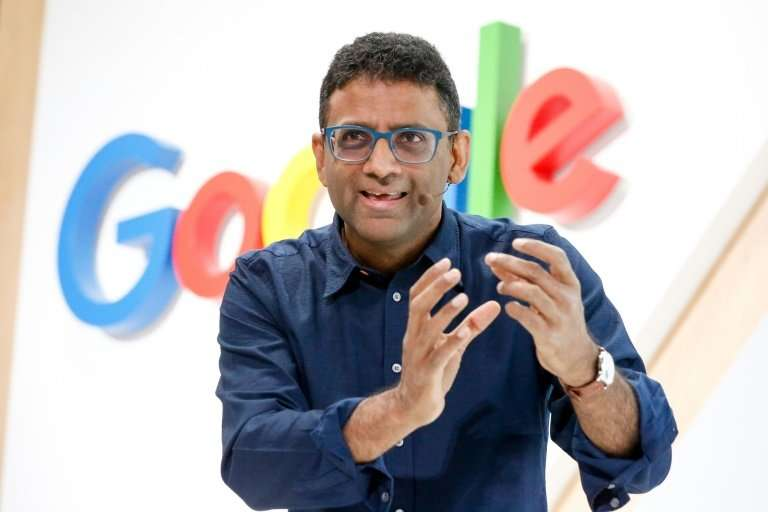 Google Search chief Ben Gomes speaks at the company's 20th anniversary event on September 23, 2018 in San Francisco