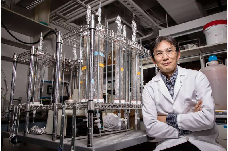 Researchers develop model to show how bacteria grow in plumbing systems