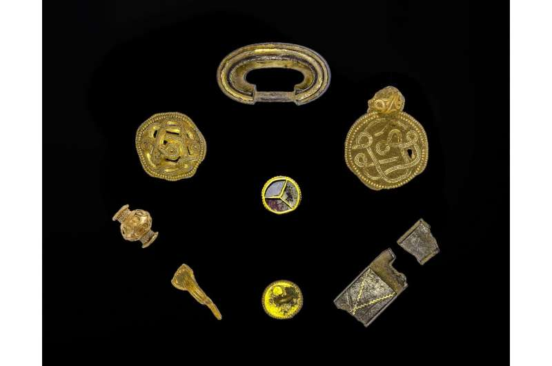 Archaeologists celebrate spectacular discovery of Iron Age treasure