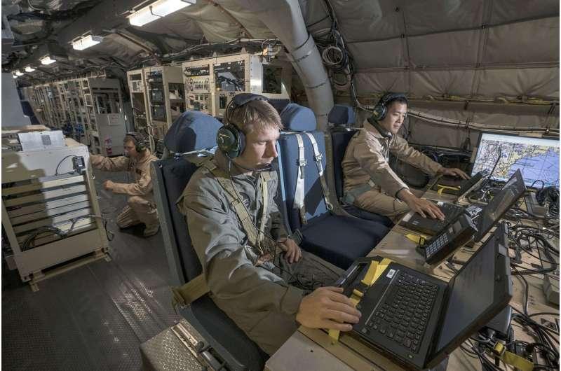 Flight testing validates waveform capability