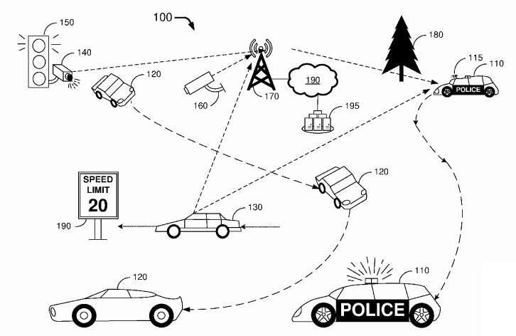 Ford's patent application puts focus on autonomous police vehicles