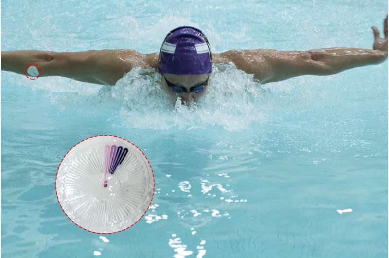 New microfluidic devices help athletes and enhance physical rehab