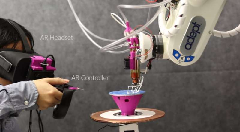 Augmented reality takes 3-D printing to next level