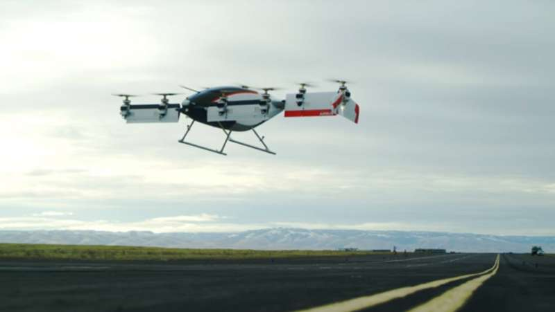 Our future air taxi? Vahana self-flying machine takes off, hovers, lands