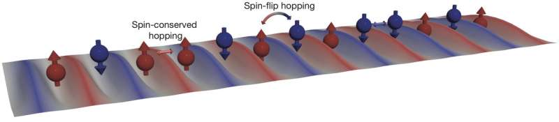 Physicists quantum simulate topological materials with ultracold atoms