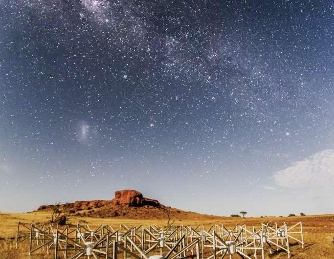Outback radio telescope listens in on interstellar visitor