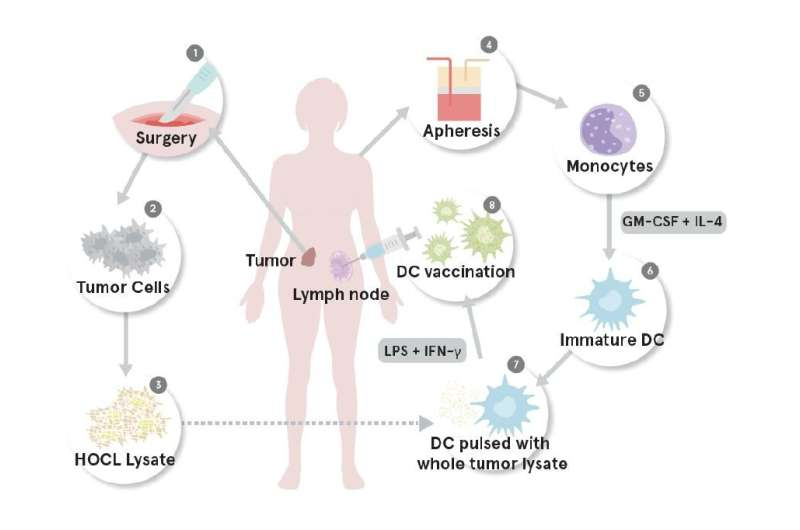 Researchers devise and test pioneering personalized ovarian cancer vaccine