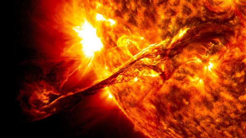 Secrets of solar flares can now be studied on Earth