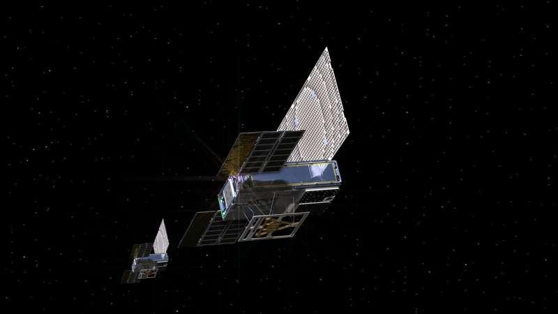 NASA's first deep-space CubeSats say: 'Polo!'