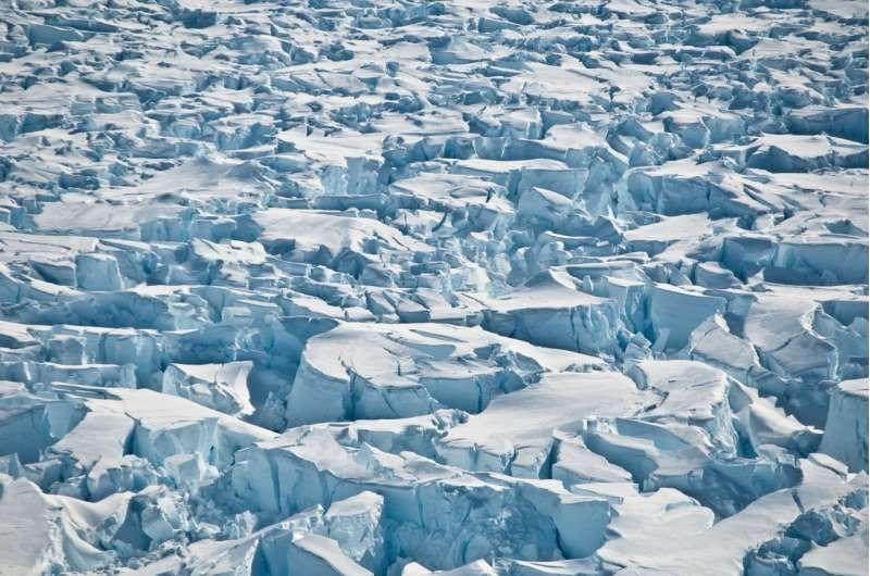 Antarctica ramps up sea level rise