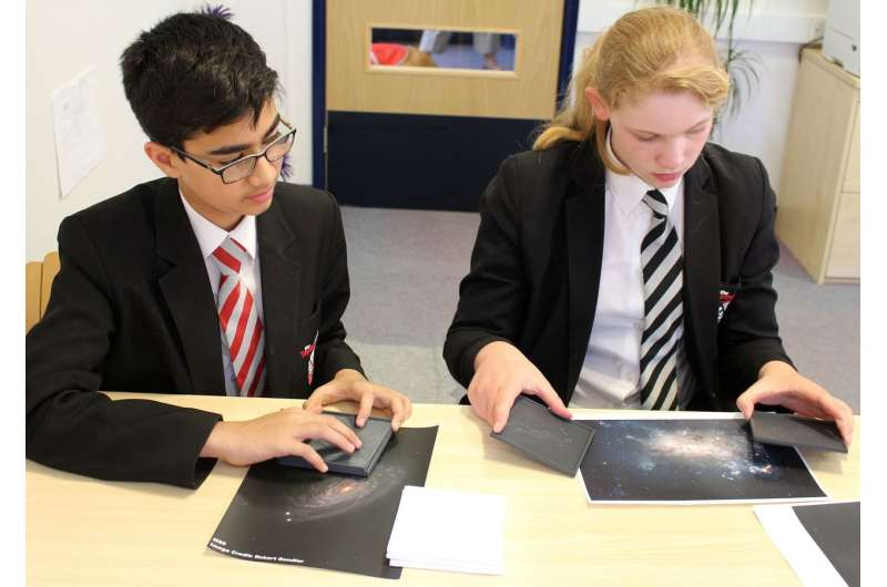 Helping visually impaired children to 'feel' the universe