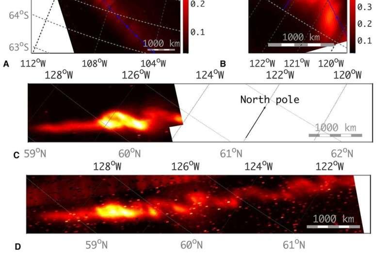 Data from Juno shows Jupiter moons causing footprints in aurorae
