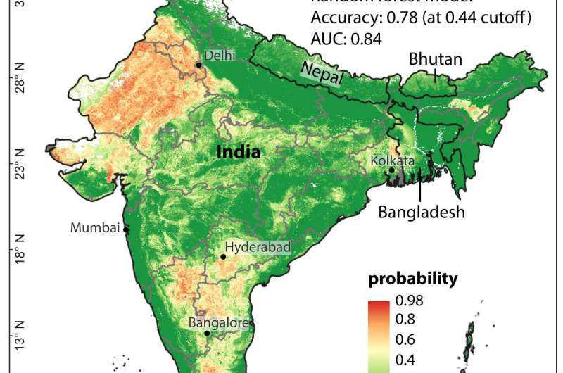 India's excess fluoride in groundwater