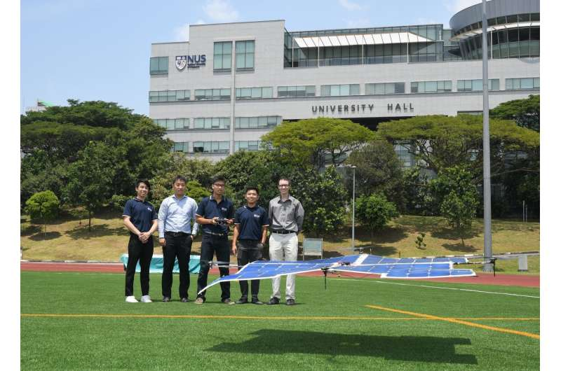 Fly high and far with Asia's first fully solar-powered quadcopter drone