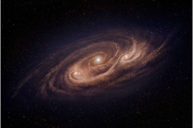 Astronomers reveal new details about 'monster' star-forming galaxies