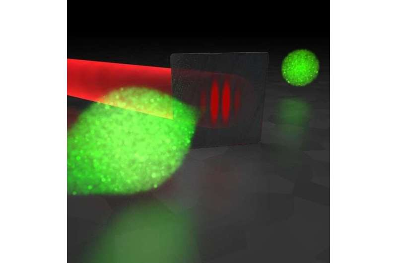 Physicists produce extremely short and specifically shaped electron pulses for materials studies