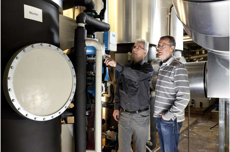 Wastewater recycling instead of disposal