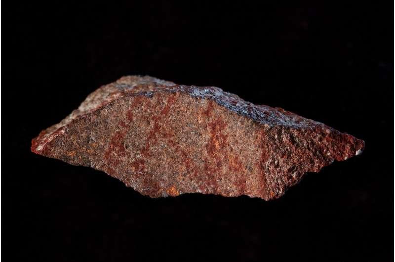 Multimedia graphic design -- 73,000 years ago