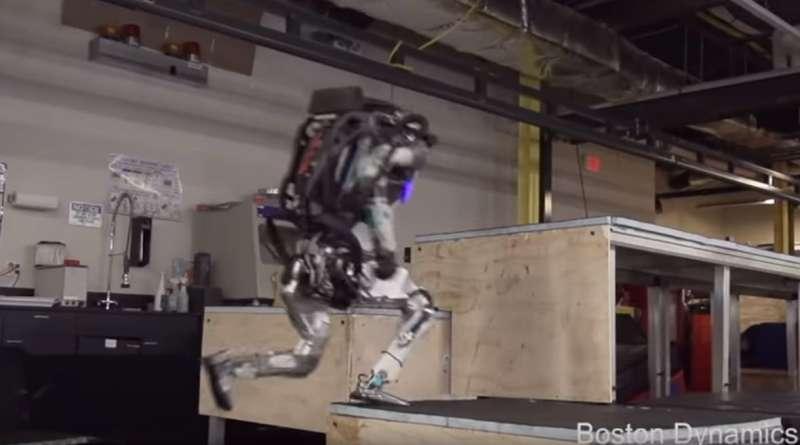 Boston Dynamics hands Atlas a parkour repertoire