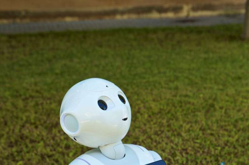 New robot helps the elderly exercise and detects underlying health problems
