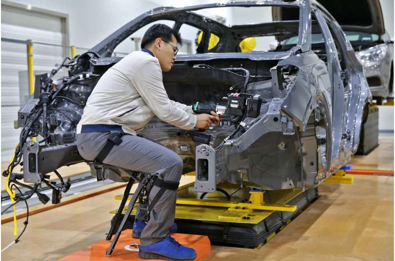 Hyundai exoskeleton aims to cut workers' strains, will be tested in factories