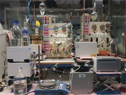 Automated optimization and synthesis of pharmaceuticals in the cloud