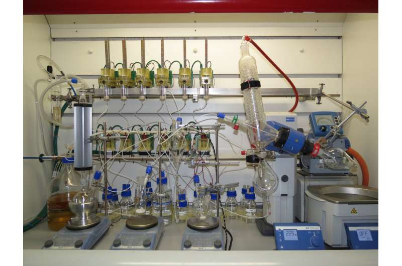 'Chemputer' promises app-controlled revolution for drug production