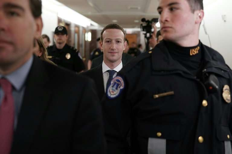 Facebook CEO Mark Zuckerberg held private meetings Monday with lawmakers ahead of his congressional testimony Tuesday and Wednes