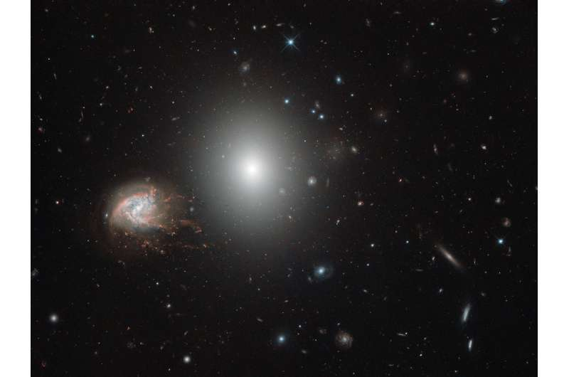 Image: Hubble's galaxies with knots, bursts