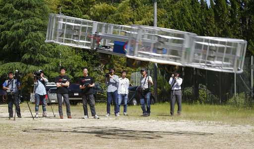 Japan eager to be on board vertical-takeoff 'flying cars'
