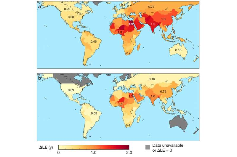 Air pollution reduces global life expectancy by more than one year, study finds