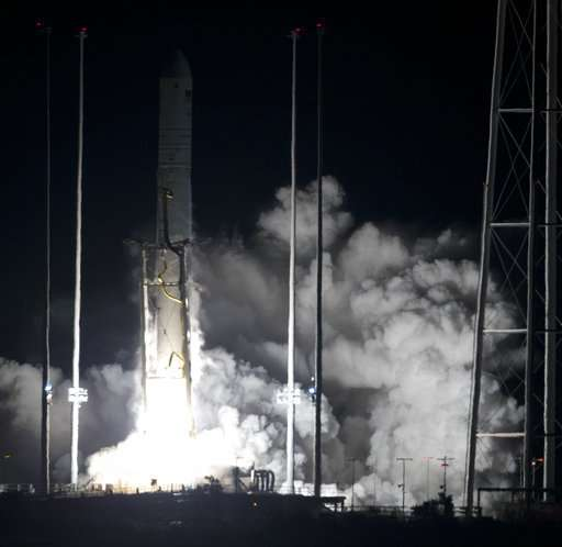 Space station supplies launched, 2nd shipment in 2 days