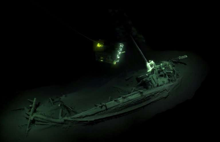 Researchers say the ancient Greek trading ship found at the bottom of the Black Sea near Bulgaria is the world's oldest known sh