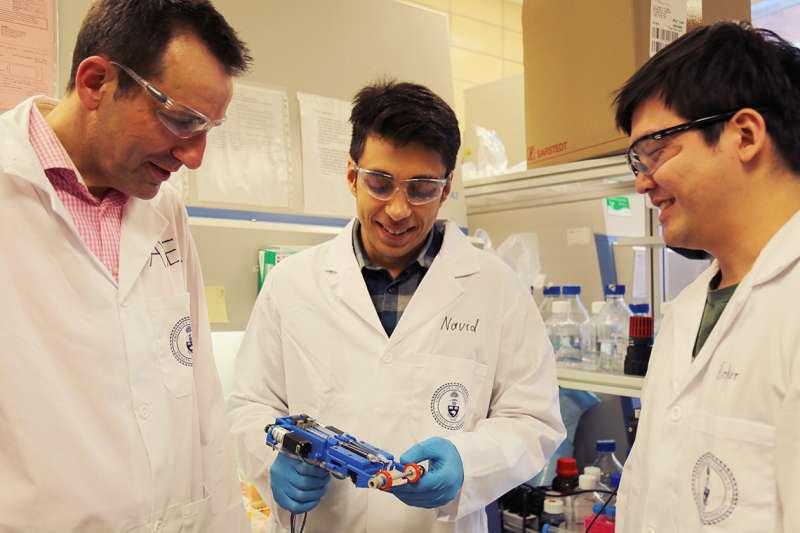 Researchers develop portable 3-D skin printer to repair deep wounds