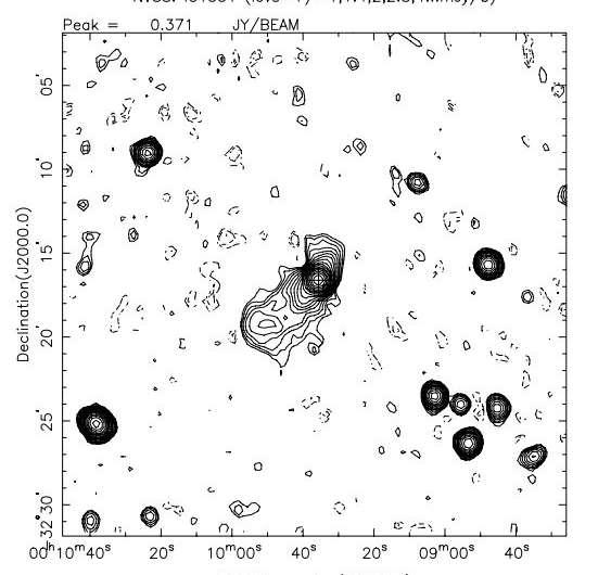 Researchers investigate the peculiar radio source IC 1531