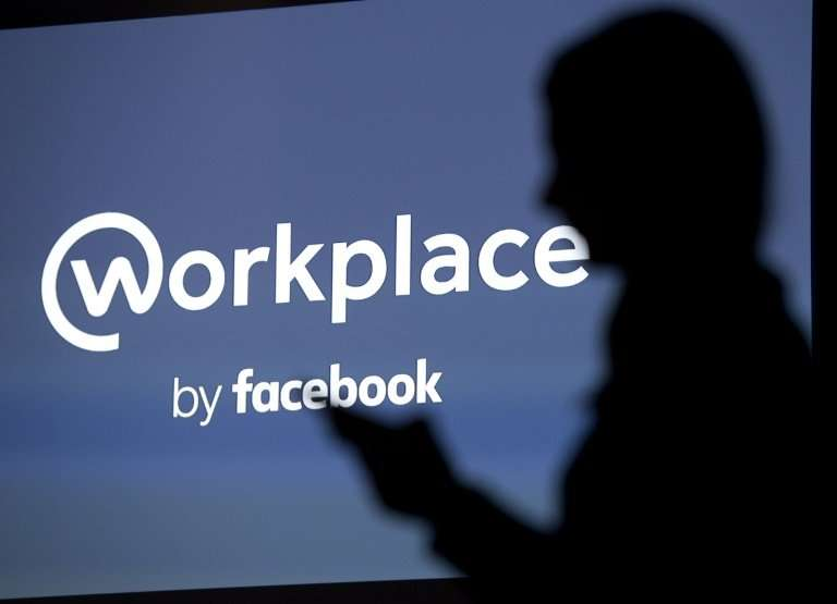 Facebook says it is seeing growth in Workplace, the social media company's platform aimed at replacing intranet, mailbox and oth