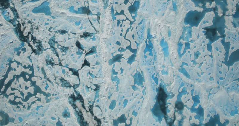 New technique more accurately reflects ponds on Arctic sea ice